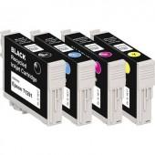 Basetech Tinta helyettesíti Epson T1291, T1292, T1293, T1294 Kompatibilis Fekete, Cián, Bíbor, Sárga BTE125 1617,4050-126