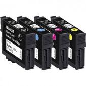 Basetech Tinta helyettesíti Epson T1621, T1622, T1623, T1624, 16 Kompatibilis Fekete, Cián, Bíbor, Sárga BTE154 1621,4850-126