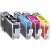 Basetech Tinta helyettesíti HP 364, 364XL Kompatibilis Fekete, Cián, Bíbor, Sárga BTH62 1712,0005-126