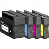 Basetech helyettesíti HP 932, 932XL, 933XL Kompatibilis Fekete, Cián, Bíbor, Sárga BTH174 1725,4005-126