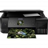 Epson EcoTank ET-7700 Színes tintasugaras multifunkciós nyomtató A4 Nyomtató, szkenner, másoló LAN, WLAN, Duplex, Tintatartályos rendszer