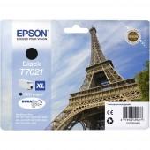 Epson Tinta T7021, XL Eredeti Fekete C13T70214010