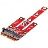 Csatlakozó átalakító, 1x PCIe alj 6 pól. - 1x mini PCI-Express, Renkforce RF-DT-134B