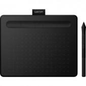 Kreatív digitalizáló tábla digitális tollal, Wacom Intuos Comfort PB S, fekete