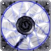 Számítógépház ventilátor 120 x 120 x 25 mm, fekete, kék LED, Bitfenix Spectre Pro