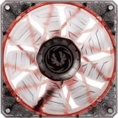 Számítógépház ventilátor 120 x 120 x 25 mm, fekete, piros LED, Bitfenix Spectre Pro