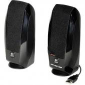 USB-s PC hangszóró, hangfalpár, 2.0 multimédiás hangfal 1.2 W Logitech S-150