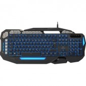USB-s gaming billentyűzet, világítós, fekete, Renkforce RF-GT-X2