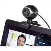 Webkamera 640 x 480 pixel Basetech Classic BS-WC-01 Csíptetős tartó, Talp
