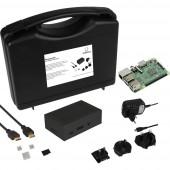 Renkforce Advanced Set Raspberry Pi® 3 B 1 GB 4 x 1.2 GHz Házzal, Tápegységgel, HDMI™ kábellel, Noobs OS-sel, Hűtőbordával