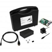 Renkforce Advanced Set Raspberry Pi® 4 B 8 GB 4 x 1.5 GHz Házzal, Tápegységgel, HDMI™ kábellel, Noobs OS-sel, Hűtőbordával