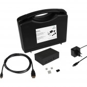 Renkforce Advanced Set f. Raspberry Pi® 2 B, 3 B, 3 B + Házzal, Tápegységgel, HDMI™ kábellel, Noobs OS-sel, Hűtőbordával