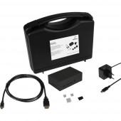Renkforce Advanced Set f. Raspberry Pi® 4 B Házzal, Tápegységgel, HDMI™ kábellel, Noobs OS-sel, Hűtőbordával
