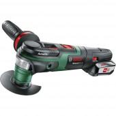 Akkus többfunkciós szerszám 18 V 2.5 Ah Bosch Home and Garden Multifunktionswerkzeug AdvancedMulti 18, 1 Akku 0603104001