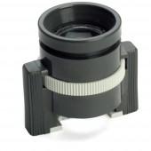 Álló nagyító Nagyítási tényező: 10 x Lencseméret: (Ø) 18 mm Fekete Ideal Tek 802-01