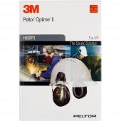 3M Peltor Optime II H520P3E Hallásvédő fültok 30 dB 1 db