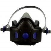 3M SecureClick HF-801 Légzésvédő félmaszk ohne Filter Méret: S