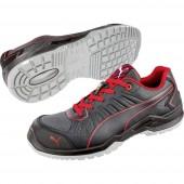 PUMA Safety Fuse TC Red Low 644200-45 ESD biztonsági cipő S1P Méret: 45 Fekete, Piros 1 pár