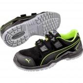 PUMA Safety Neodyme Green Low 644300-41 ESD biztonsági cipő S1P Méret: 41 Fekete, Zöld 1 pár