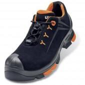 Uvex 2 6508247 ESD biztonsági cipő S3 Méret: 47 Fekete, Narancs 1 pár