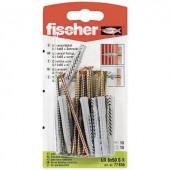 Fali tipli, dübel Fischer UX 6 x 50 SK 50 mm 6 mm 77855 10 db