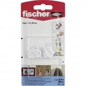 Fischer Fali Hook Fast &  Fix Fehér K 8 db.