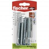 Fischer UX 10 x 60 RS K Univerzális tipli 60 mm 10 mm 77863 1 készlet