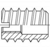 TOOLCRAFT becsavaró anya, DIN 7965 12 mm acél, M6 100 db 144030