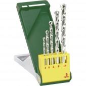 Keményfém Kő spirálfúró készlet 5 részes Bosch Accessories Promoline 2607019438 Henger szár 1 db