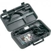 Mini fúrógép, gravírozó és csiszológép 80 részes készlet Basetech