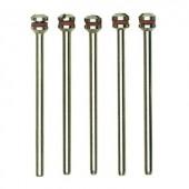 5 db feltűző tengely (Ø x hossz) 2,35 x 44 mm Proxxon Micromot 28 815 Szár átmérő 2,35 mm