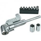 Sarokcsavarozó adapter, feltét Basetech 824065