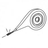 Kiforrasztó huzal, adagolóval 2,6 mm x 2 m Arexx AW-100