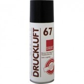 Sűrített levegő spray, por spray 100 ml CRC Kontakt Chemie DRUCKLUFT 67 85504