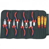 Feltekerhető szerszámtáska 11 részes szerszám készlettel, Knipex 00 19 41
