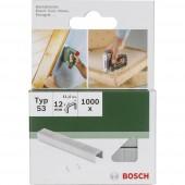 Kapocs 53-es típus 1000 db Bosch 2609255821 Kapocstípus 53 Méret (H x Sz) 10 mm x 11.4 mm