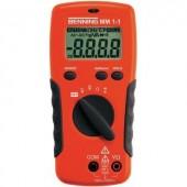 Digitális multiméter, mérőműszer, érintés nélküli feszültségvizsgálattal Benning MM 1-1