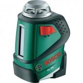 Bosch PLL 360 Set 20m -ig használható Vonallézer