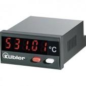 Beépíthető LCD hőmérő modul, panelműszer ‑19999...+99999 °C-ig Kübler CODIX 531