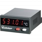 Beépíthető LCD hőmérő modul, panelműszer ‑19999...+99999 °C-ig Kübler CODIX 532