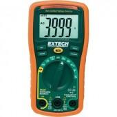 Digitális multiméter, mérőműszer, kitöltési tényező és hőmérséklet méréssel 10A AC/DC Extech EX330