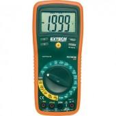 Digitális multiméter, mérőműszer, hőmérséklet mérő funkcióval 10A AC/DC Extech EX410