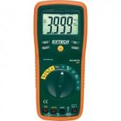 Digitális multiméter, mérőműszer, kitöltési tényező és hőmérséklet méréssel 20A AC/DC Extech EX420