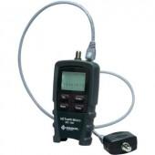 Vezetékvizsgáló kábelteszter hálózati és telefonkábelekhez RJ11  RJ45  koax F csatlakozóval Greenlee NETcat Micro NC-100