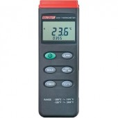 """1 csatornás digitális """" K""""  típusú hőmérő, -200 - +1370 °C, Voltcraft K201"""
