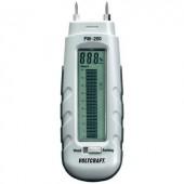 Anyagnedvesség mérő, fa és épületnedvesség mérő 0.2 - 2 térf% Voltcraft FM-200