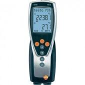 2 csatornás kézi hőmérséklet mérő, 10000 mérési adat tárolással Testo 735-2