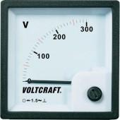 Analóg beépíthető táblaműszer, beépíthető voltmérő 300V Voltcraft AM 72x72