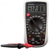 Digitális multiméter, mérőműszer, tranzisztor tesztelő funkcióval 250V AC/DC 10A/DC Voltcraft VC130-1