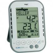 Digitális páratartalom-/hőmérő adatgyűjtővel  vezeték nélküli USB vevő  TFA KlimaLogg Pro 30.3039.IT